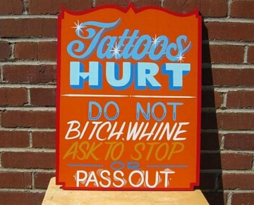 Tattoos-Hurt-_-Do-Not-Pass-Out-Sign