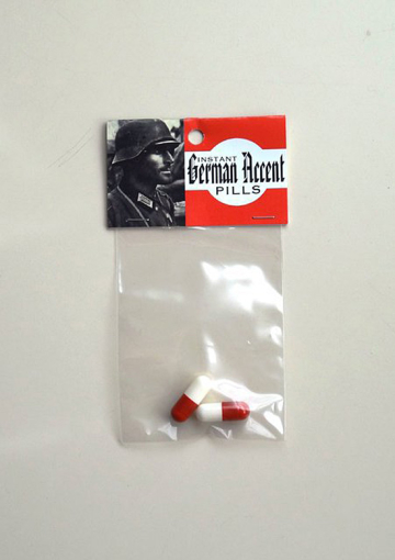 Instant German Accent Pills