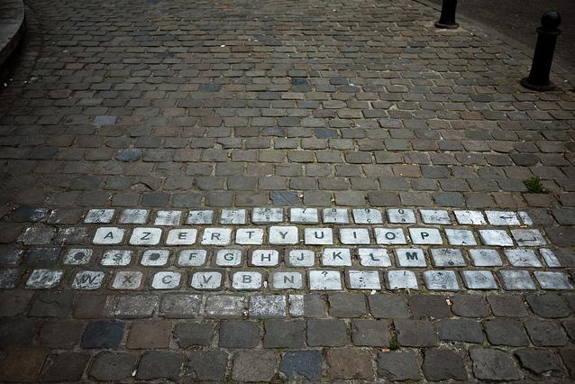 AZERTY Sidewalk