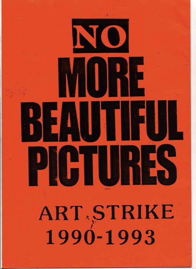 Art strike
