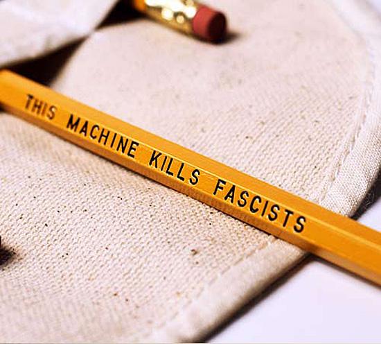 This-Machine-Kills-Facists-Pencil-Set