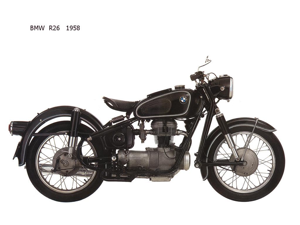 BMW R26 1958