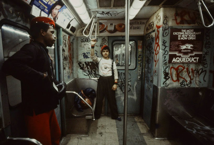 New York's Subway in 1981 by Christopher Morris (8)